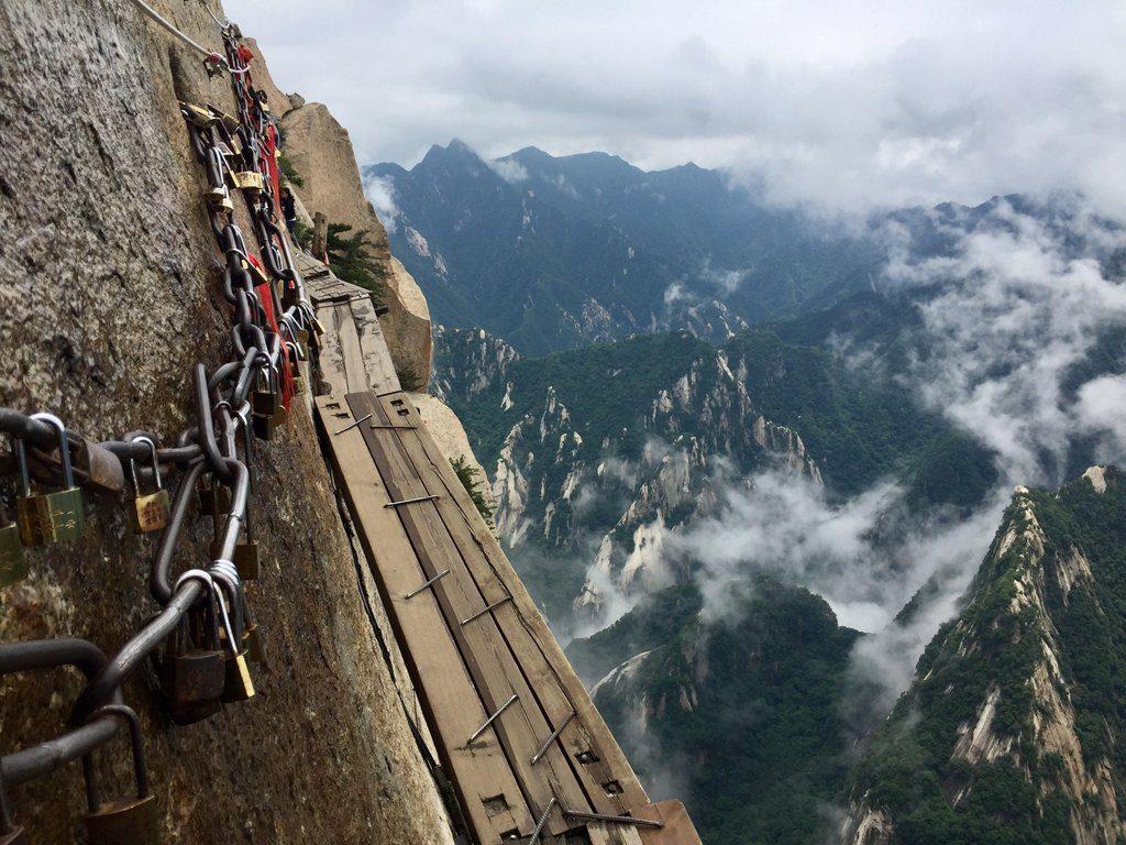 Huashan Mountain Plank