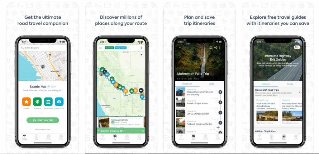 RoadTrippers - Travel planning app