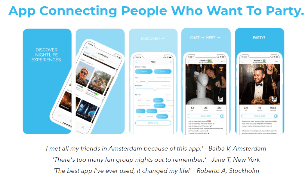 partwithalocal.com - Meet like minded travelers and discover new cities together