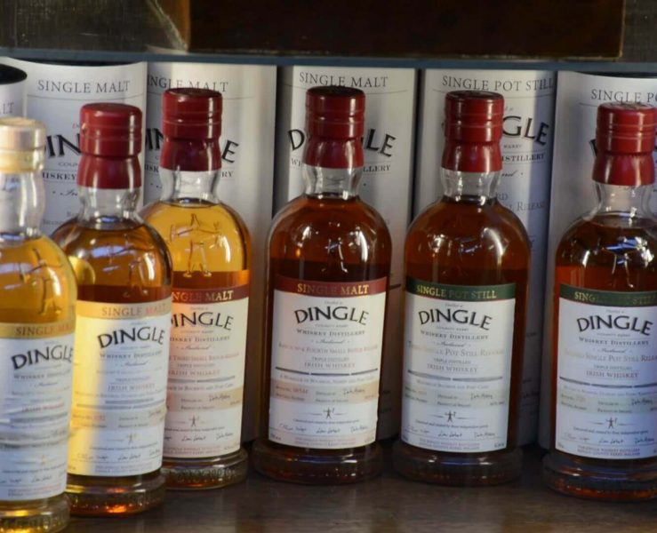 Dingle distillery is a great place to visit If you experience some rain on the peninsula