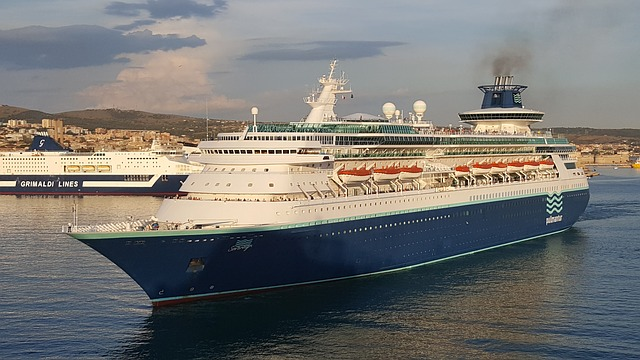 Former Sovereign of the Seas completes its final journey