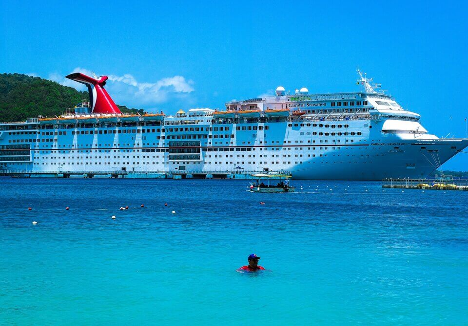 The Carnival Sensation, which has been in service since 1993